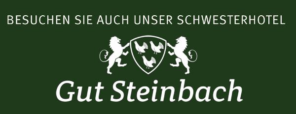 Besuchen Sie auch unser Schwesterhotel Gut Steinbach